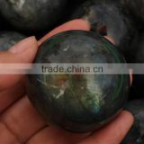 wholesale small natural rock labradorite quartz stone sphere healing ball