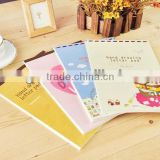 2014 hot sale hand drawing letter pad