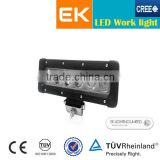 EK factory led work lamp 10-30V Spot/Flood beam led work light for truck, excavatork, boat,ATVs 12w led work light