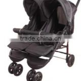 2015 America Market Fashion Design Cheap Double seat/Twins Baby Pushchair/ Stroller