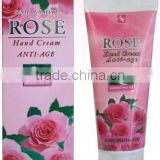 Hand Cream with Q10 and Rose Oil - 75 ml. Paraben and Alcohol Free. Made in EU. Private Label Available.