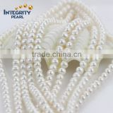 8mm AA+ nice quality strong luster full drilled hole natural loose pearl string