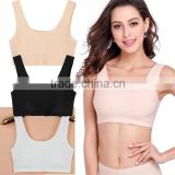 New Style Meryl Material One Piece Seamless Sport Bra Comfortable Prevent Exposure Tube Top Bra for Women