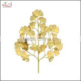 2016 high quality hot sale Artificial tree Leaves ginkgo leaf wholesale