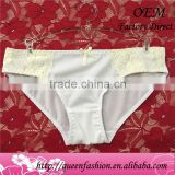 Spandex Bamboo Fiber 95% super mierofiber & 5% spandex Material and OEM Service Supply Type ladies panty lace underwear