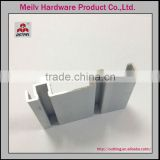 45 digree cutted aluminum profile, matt anodized natural anodized or clear anodized furniture profile