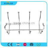 Household Wall Mounted Metal Pothook with 4 Hooks Used in Bedroom, Kitchen and Bathroom XQ6504