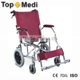 Rehabilitation Therapy Guangzhou suppliers light weight portable aluminum wheelchair