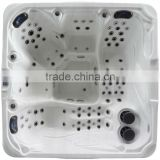 100 JETS USA acrylic outdoor spa massage bathtub for 5 person with led light