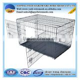 high quality steel wire metal pet dog cage