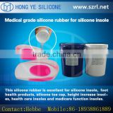 New design fashion shoe sole of long lasting comfort & protection RTV silicone rubber