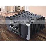 Aluminum enclosure 500w high power ring transformer 2 channel class a balanced professional power amplifier