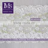 wholesale new fancy embroidery flower crochet running yardage indian saree border lace trim