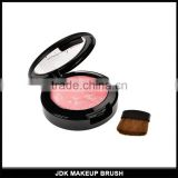 makeup cosmetic blusher check Palette with goat hair blush brush