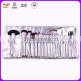 Professional Makeup Brush Set with Aluminum Ferrule and Nylon Hair Bristle