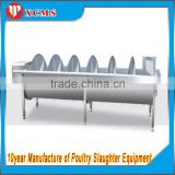 Sale full 304 stainless steel fresh chicken feet or paw pre-cooling machine or equipment