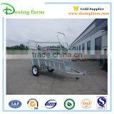 2015 new design semi fence with sheep panel trailer