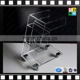 Clear Acrylic Side Table Crystal Clear Acrylic Trolley With Wheels From Shenzhen Yidong