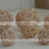 Cheap wicker rattan balls & Christmas decorative wicker balls