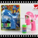 kids plastic lovely fish bubble gun