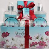 6 PCS BATH SET W/PAPER BOX