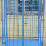 Blue Collapsible Roll Cage Container For Transporting ISO9001