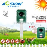 Aosion Ultrasonic Solar Cat Fox Dog Rodent Garden Animal Repeller with PIR Motion Sensor