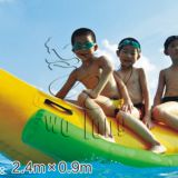 Inflatable banana ship water toys for water parks/buoyancy floats