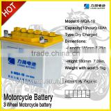THREE WHEELS CAR & ATV CAR & MOTORCYCLE storage battery for ZONGSHEN LONCIN QJIANG LIFAN