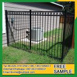 Powder coated metal fence beautiful panels 6 feet for garden