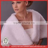 D1111 High quality wedding faux fur wraps for bridal