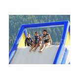 Customized Multicolour Big Inflatable Water Toys , Beach Water Slide With Fun