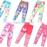2014 new arrival kids jeans leggings printed girls leggings custom kids tights