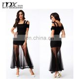 Hot ladies two suit spaghetti strap tops sexy night dress