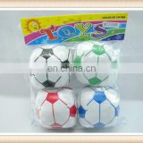4PCS 3.5inch kids stuff toy football soccer ball toy