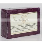 Khadi Natural Herbal Pure Lavender Soap