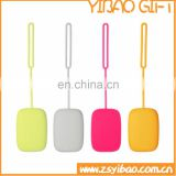 Wholesale colorful silicone keychain holder bags