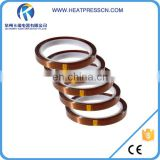 High density high temp adhesive tape for sublimation
