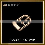 pin buckle metal metal adjustable buckle ,new style gold alloy pin buckle