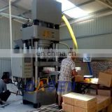 Hydraulic salt brick making machine