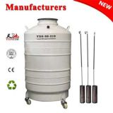 China liquid nitrogen dewar 80L with straps 6 canisters price in HK