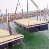 Water floating pontoons floating docks