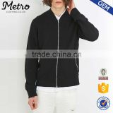 Wholesale Mens Black Zip - Up Bomber Jackets