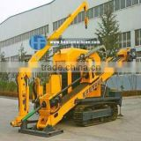 40T back force ,HFDP-40 Hydraulic Horizontal Drilling Rig with pipe rack, laying of electricity/comminications cable