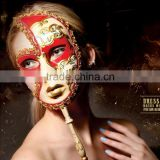 Wholesale custom party supplies mask masquerade masks Venice mask handheld                                                                         Quality Choice