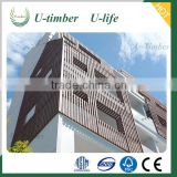 UV Resistance WPC Outdoor Wall Cladding