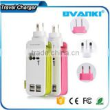 New products 2016 With charging cable multi function universal micro usb wall charger bulk buy from china
