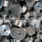 Most competitive price round or cone shape aluminum pipe end caps (aluminum pipe fitting, aluminum pipe clamp)