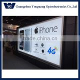 Large Size outdoor waterproof backlit fabric led advertisment sign frame with high-brightness