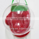12cm clear plastic ball,bauble